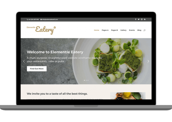 Elementle Eatery Template